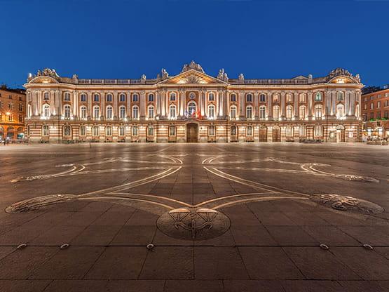 découverte de Toulouse et son centre historique avec chauffeur privé VTC